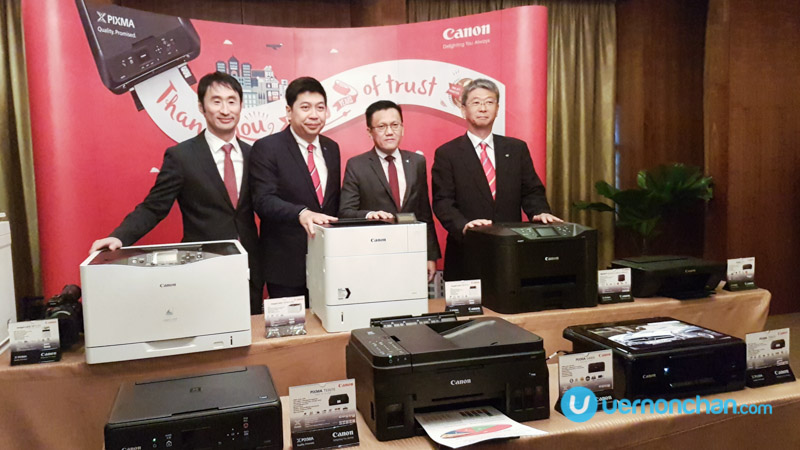 Canon celebrates 20 consecutive years as #1 inkjet printer brand in Malaysia
