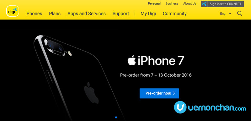Digi keeps things simple: iPhone 7 only on Digi Postpaid 148