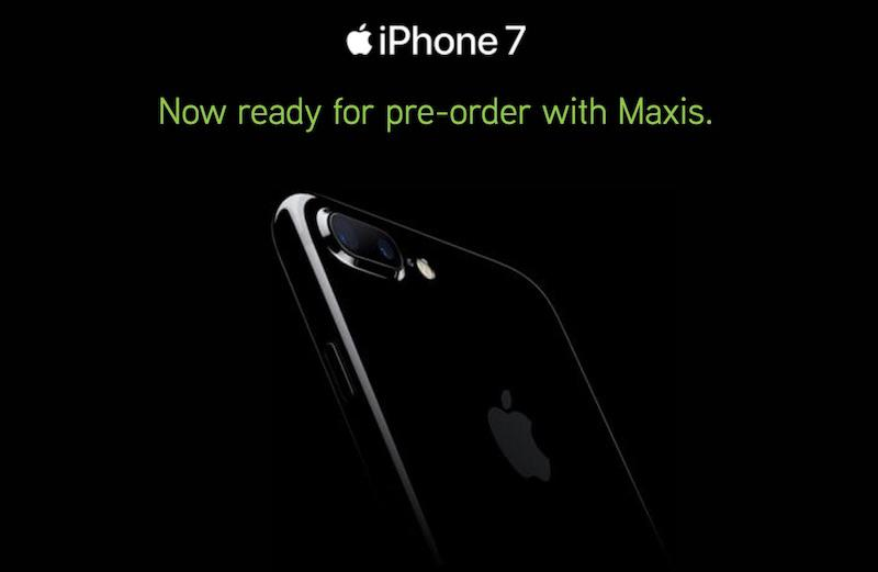 Maxis iPhone 7 Pre-order