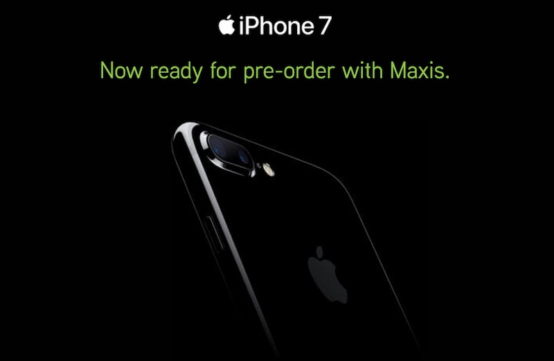 Maxis 24 Hours Everywhere Express will deliver your iPhone 7 order within 24 hours, anywhere