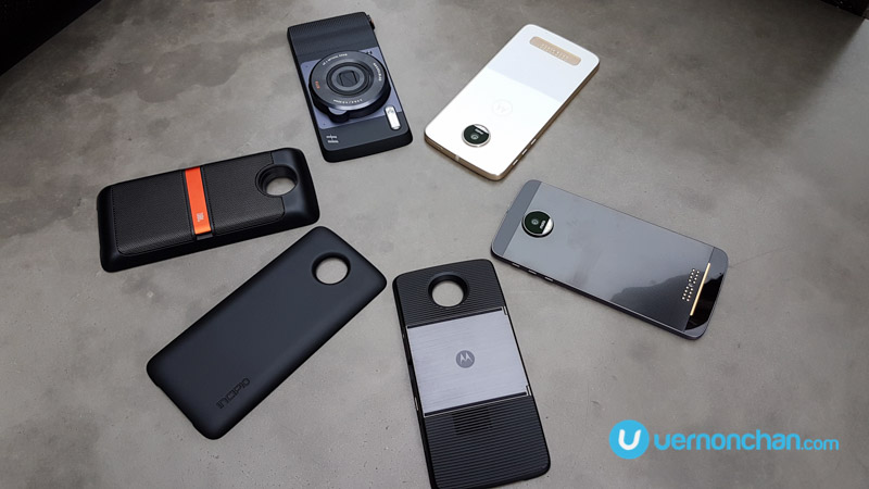 The modular Moto Z family with Moto Mods snaps into Malaysia