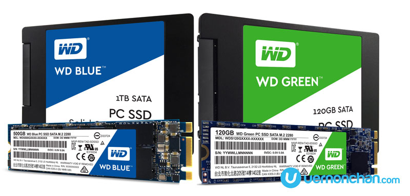WD Blue and WD Green SSD drives made for fast, instant-on performance