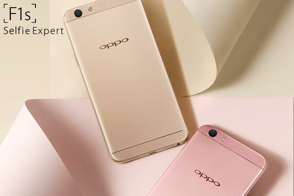 Make your next selfie a gold one with OPPO F1s and Celcom FIRST Gold Plus