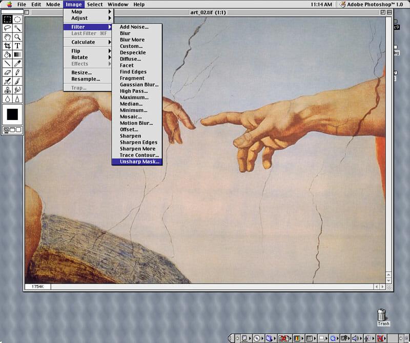 Adobe Photoshop 1.0