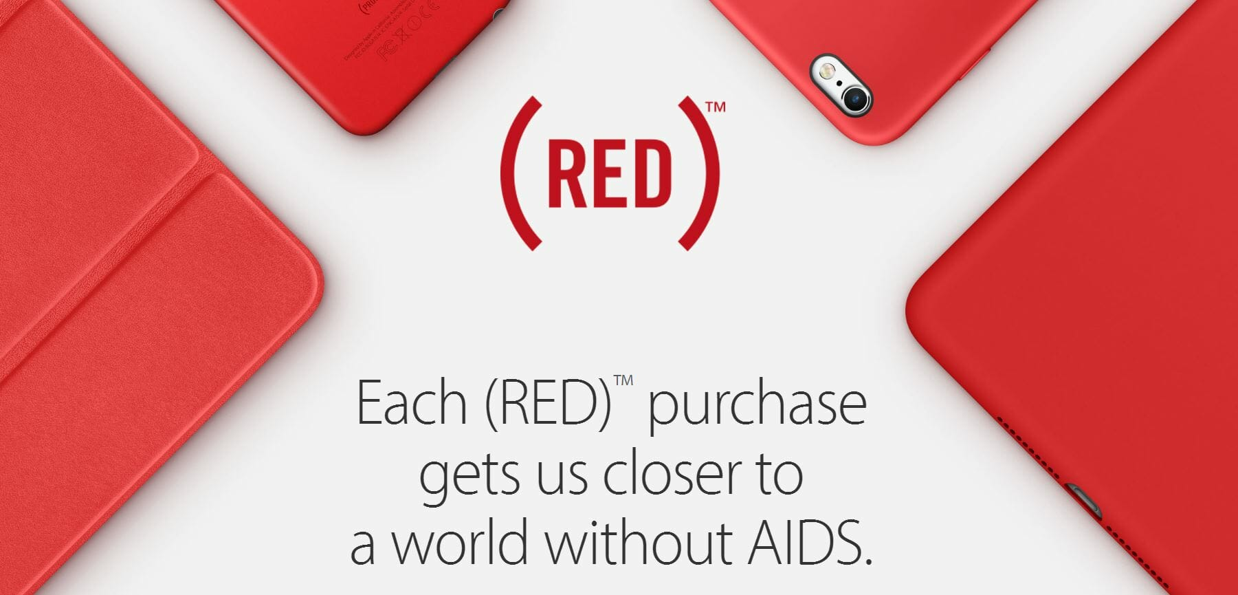 Apple introduces new PRODUCT(RED) products, limited edition in-app game items for World AIDS Day
