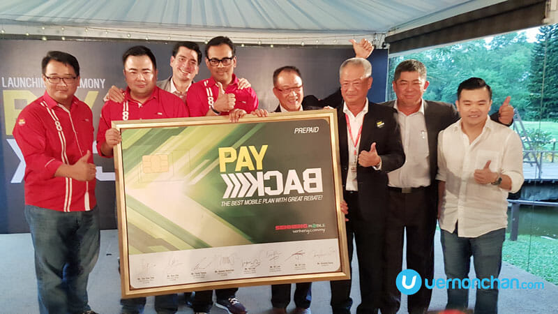 It's Payback time! New Senheng Mobile Prepaid gives 10% EZ Credit for every top-up
