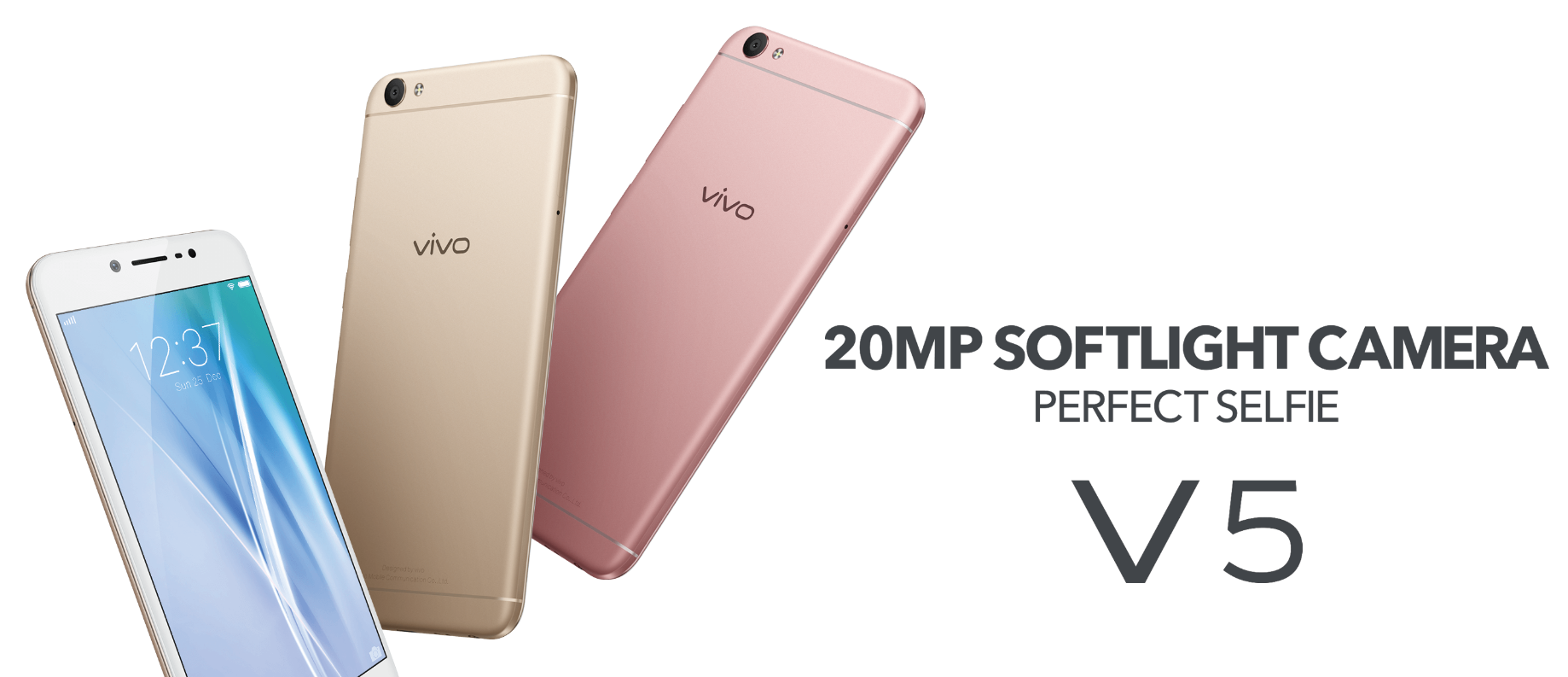 Vivo V5 packs 20MP front camera for perfect selfies