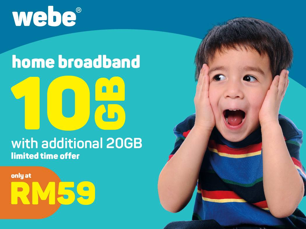 Webe quietly rolls out wireless broadband at MYR59/month