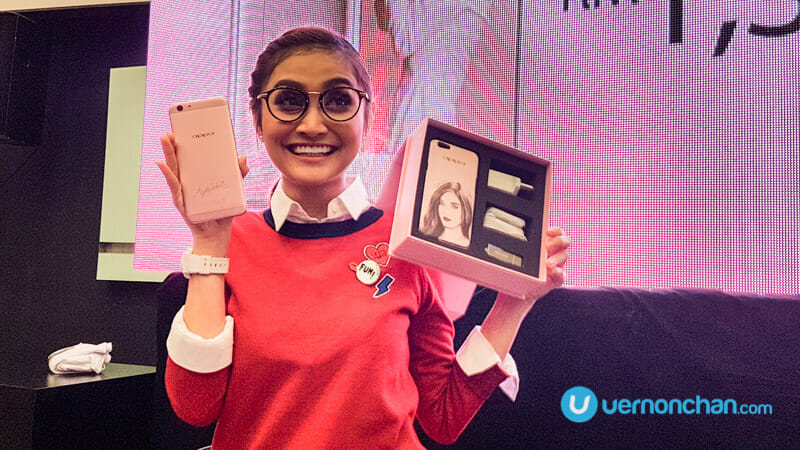 OPPO F1s Ayda Jebat Special Edition will steal your heart away