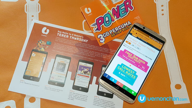U Mobile TERER THURSDAY to give away MYR5 million worth of treats