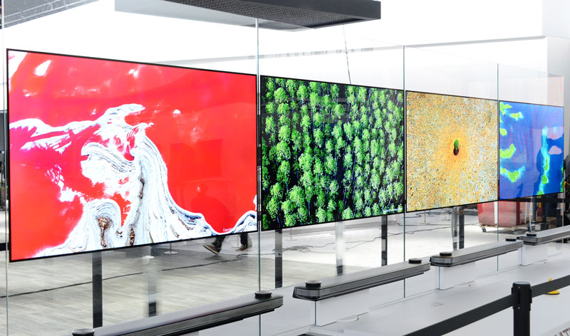 [CES 2017] LG Signature OLED TV W is the razor-thin, minimalist TV you'll want on your wall