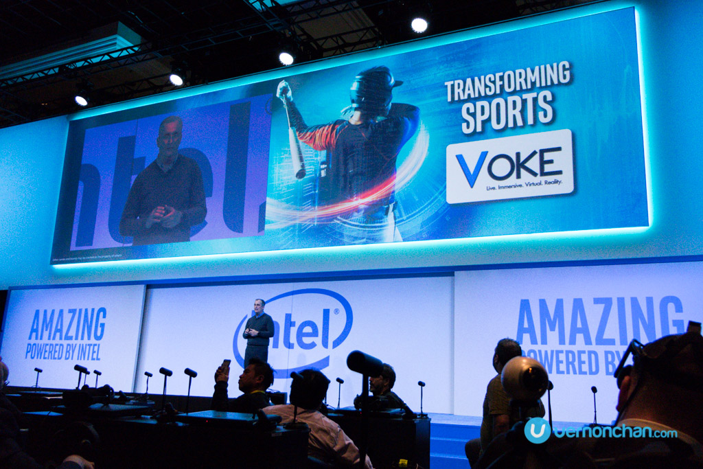 CES 2017 Intel Press Con