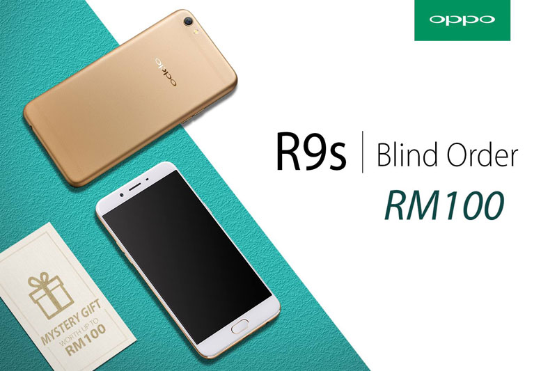 "Lee Min-ho and Min Chen are official ambassadors of OPPO R9s, ""blind pre-order"" now till 5 January"