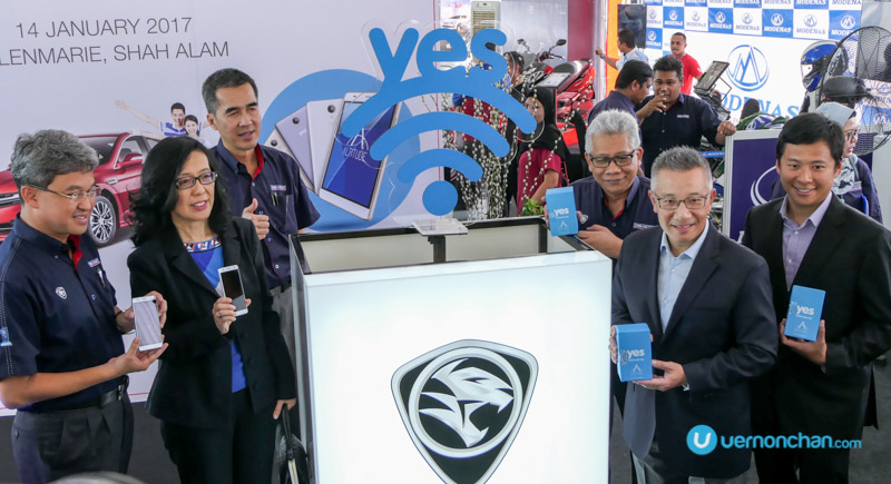 Free Yes Altitude and Yes 4G LTE prepaid plan with every purchase of a Proton car