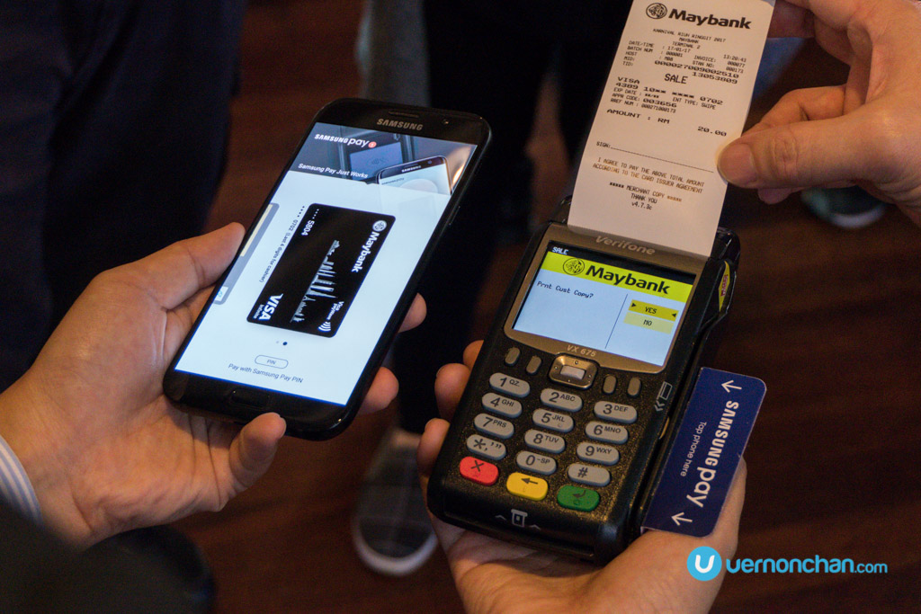 Maybank is the first bank to join Samsung Pay platform in Malaysia