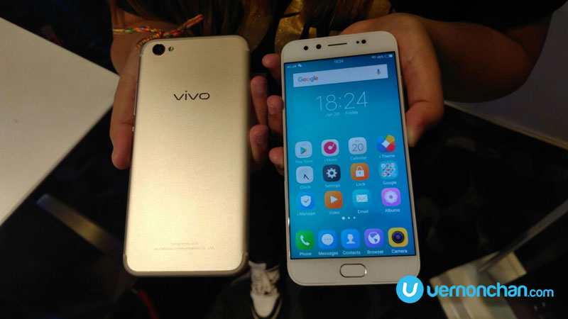 Vivo V5Plus with dual-selfie cameras hits Malaysia