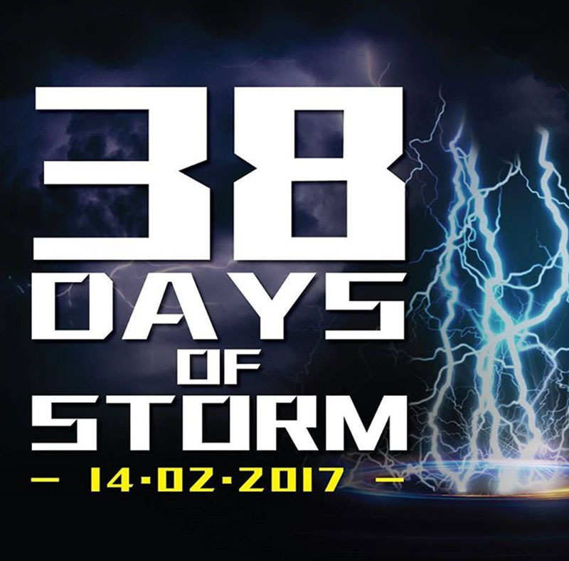 "ASUS' ""38 Days of Storm"" showers 38 days of daily prizes, starting Valentine's Day"