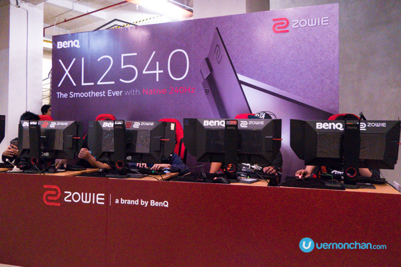 BenQ debuts Zowie XL2540 professional e-sports monitor with native 240Hz refresh rate