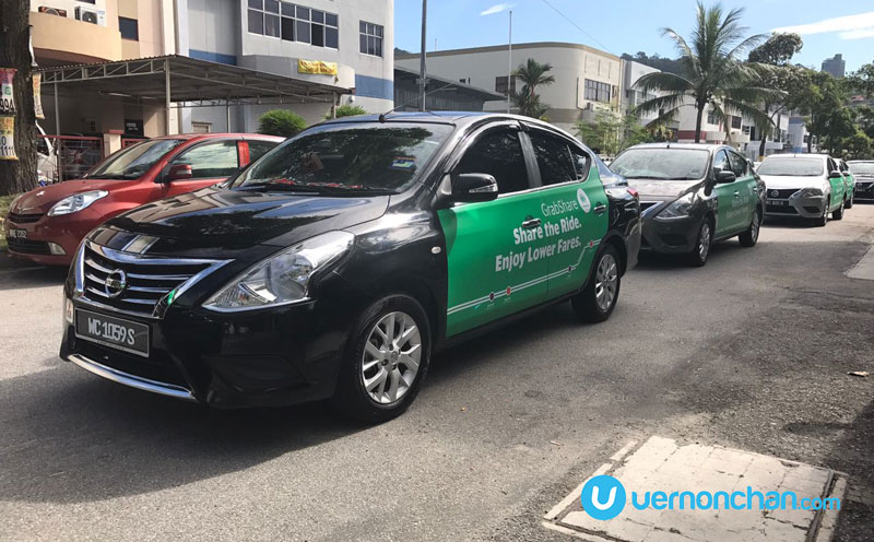 GrabShare on-demand carpooling services launches in Malaysia and The Philippines