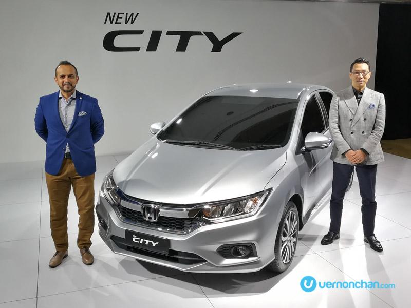 Honda previews new Honda City facelift