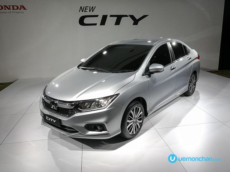 Honda City 2017 facelift