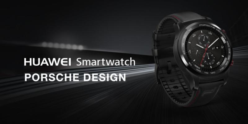 MWC17 Porsche Huawei Watch 2