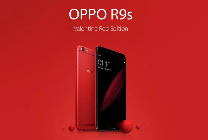 [UPDATE] Pre-order the OPPO R9s Red Edition now and personalize it in time for Valentine's Day