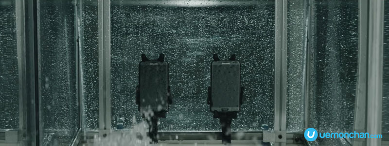 This is how Samsung tests water resistance and durability of its devices