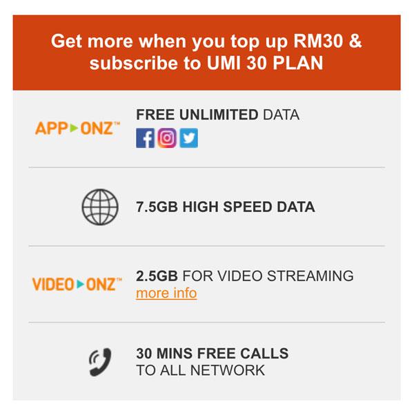 U Mobile Unlimited Power Prepaid