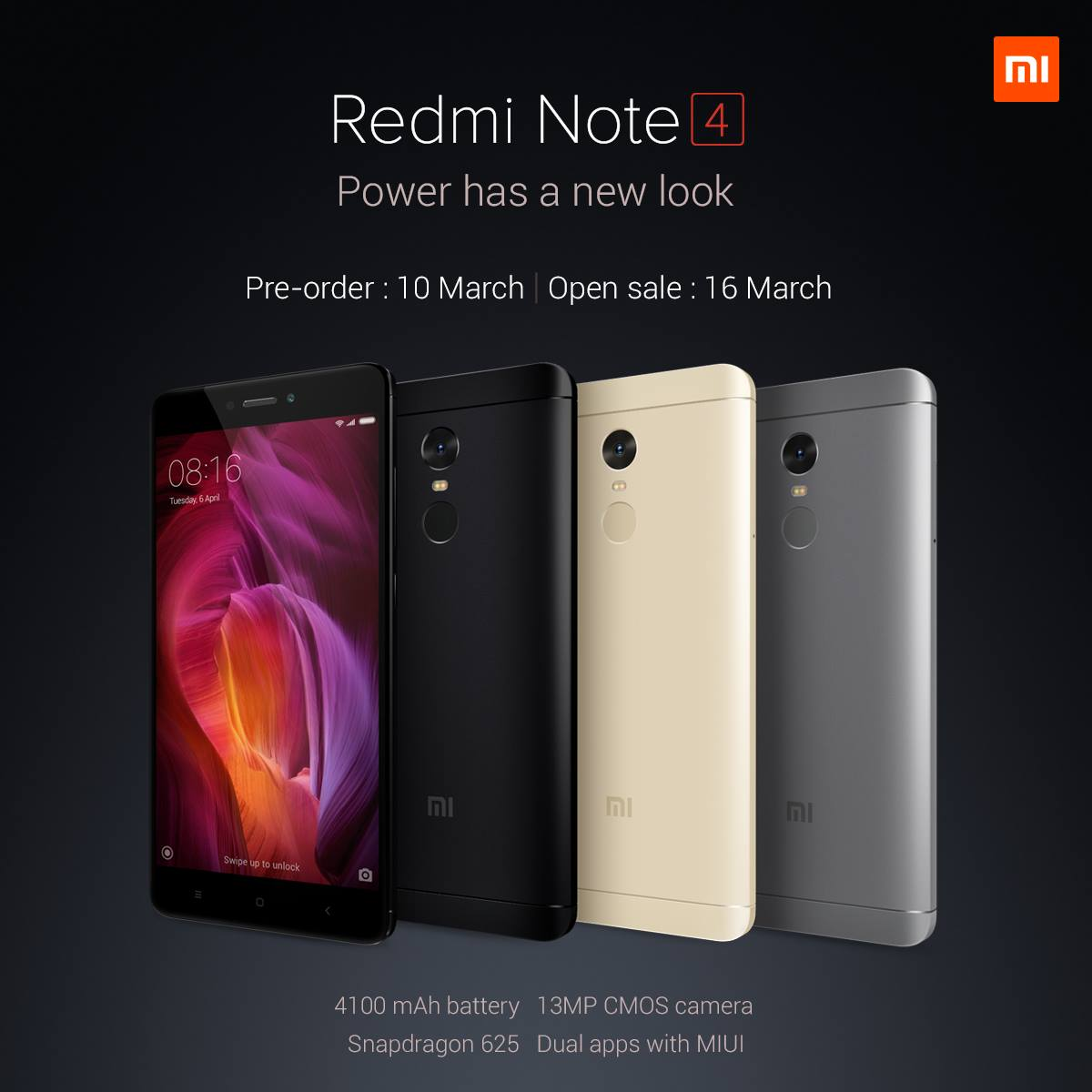 Xiaomi Redmi Note 4 is in Malaysia, pre-order starts 10 March
