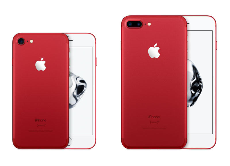 iPhone 7 (PRODUCT)RED + iPhone 7 Plus (PRODUCT)RED