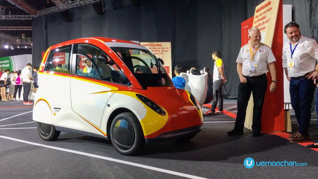 "A closer look at ""Project M"" – Shell's ultra fuel-efficient urban concept car"