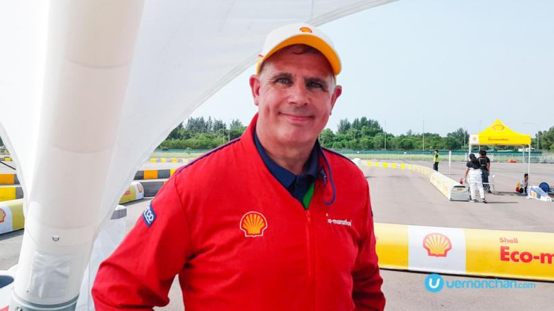 Ian Albiston, Shell Technical Specialist