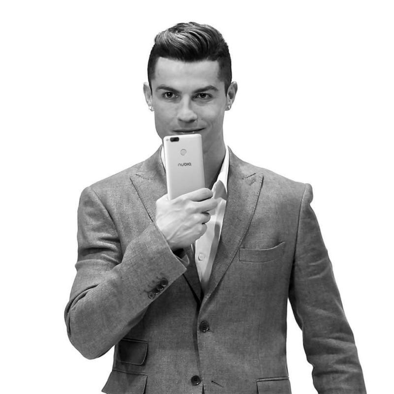 Cristiano Ronaldo Nubia