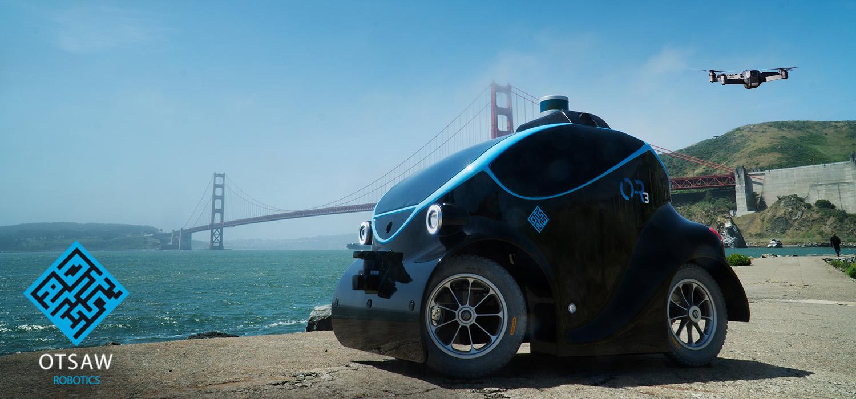 Otsaw Digital O-R3 autonomous robot car