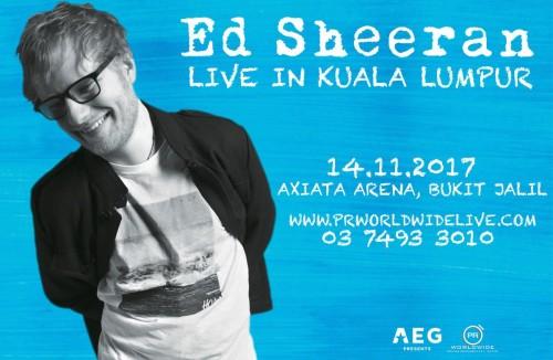 Ed Sheeran Live in Kuala Lumpur