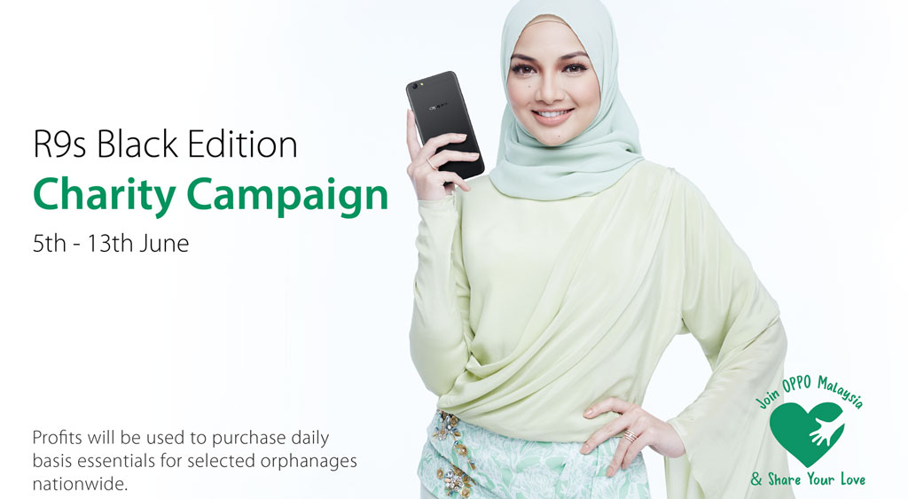OPPO spreads Ramadan cheer, donates profits of R9s Black Edition to charity