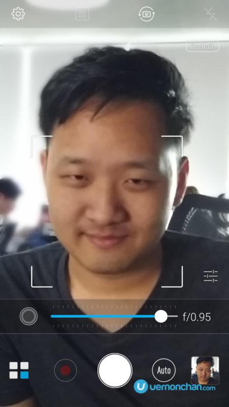 ZenFone 3 Zoom Portrait Mode