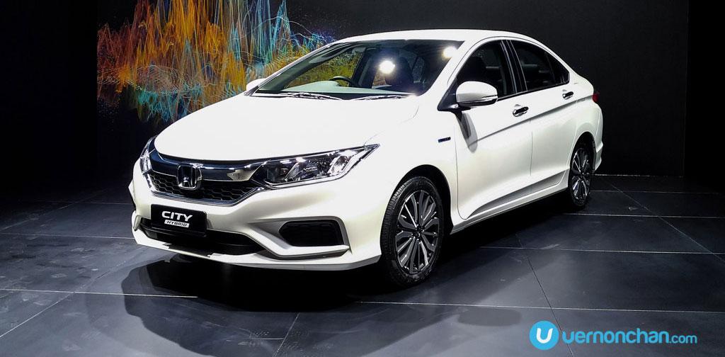 Honda City Sport Hybrid I Dcd Now In Malaysia