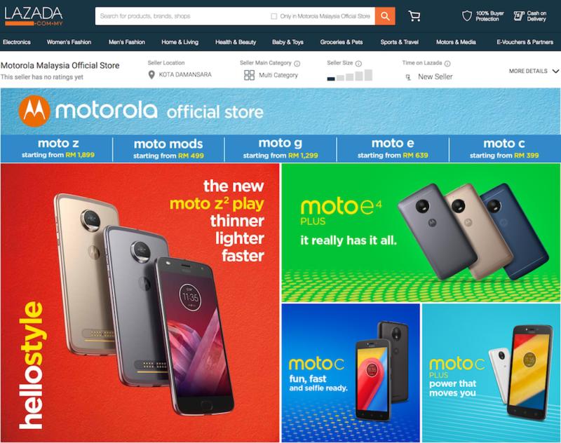 Motorola Store Lazada