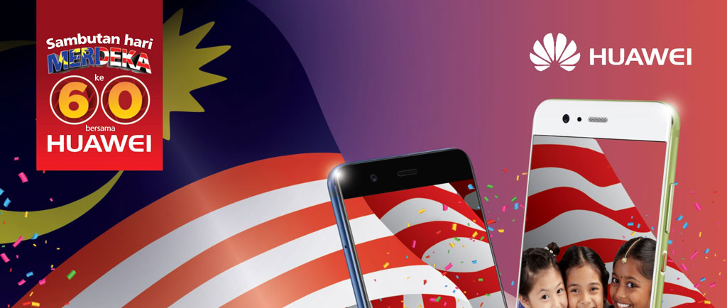 Huawei Merdeka-Malaysia Day Promo campaign offers exclusive gifts upon purchase