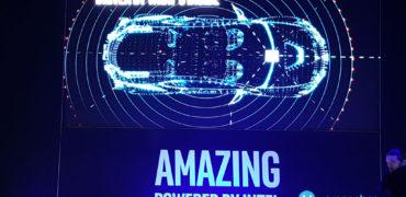 Intel CES 2017 Autonomous Vehicle