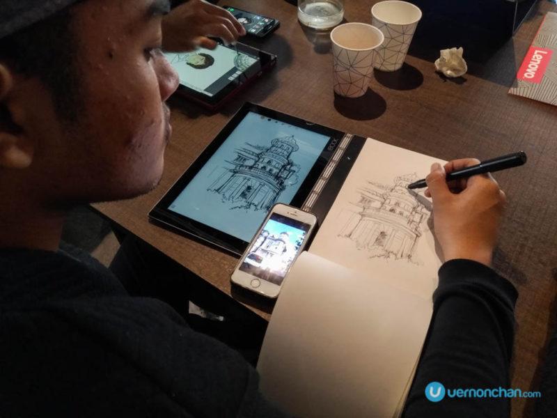Lenovo x KL SketchNation