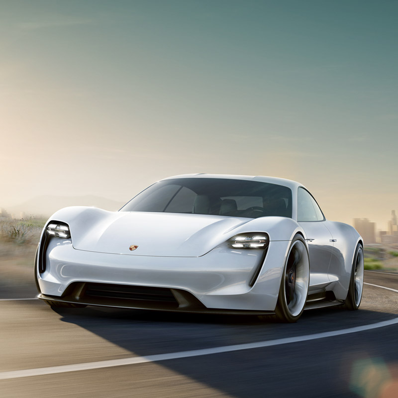 Porsches Allelectric Mission E Is A Tesla Killer That Will Debut - All tesla cars