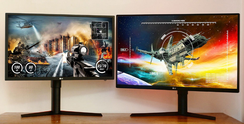 LG's new QHD gaming monitors boast up to 240Hz with G-Sync