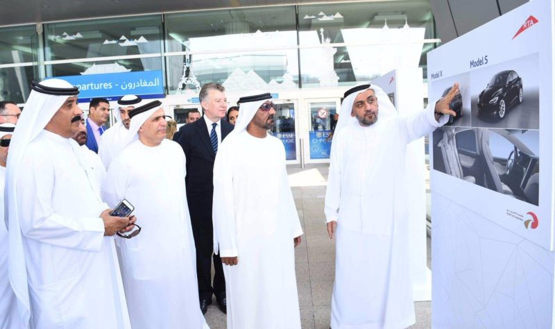http://www.arabianbusiness.com/industries/transport/378790-dubai-taxi-corporation-takes-delivery-of-50-tesla-cars