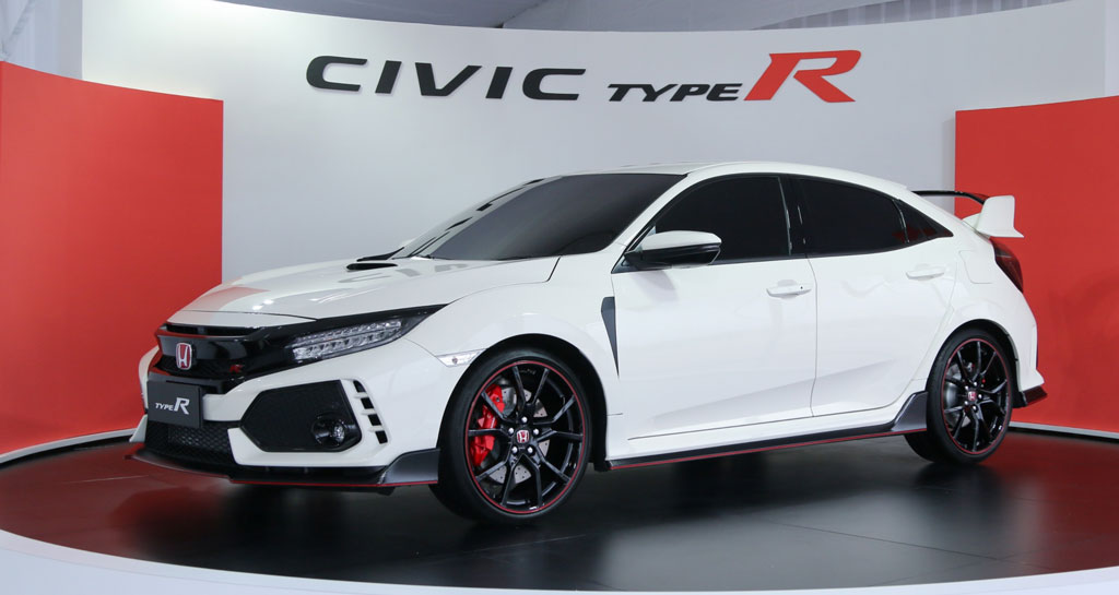 2017 honda civic type r previewed at sepang. Black Bedroom Furniture Sets. Home Design Ideas