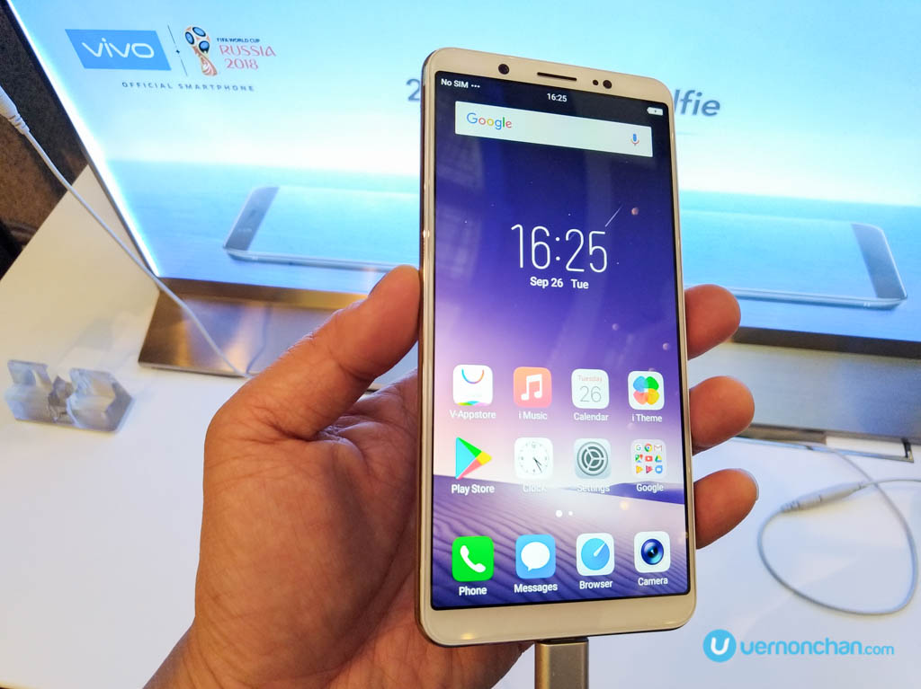 vivo V7+ aims for selfie supremacy with 24MP front camera
