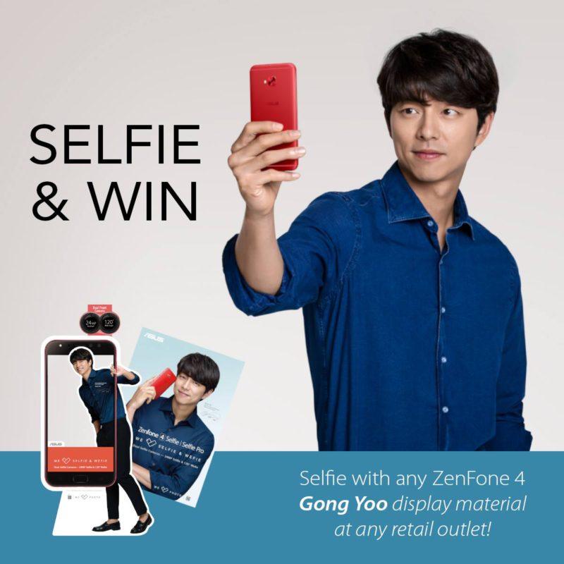 ASUS Selfie & Win contest