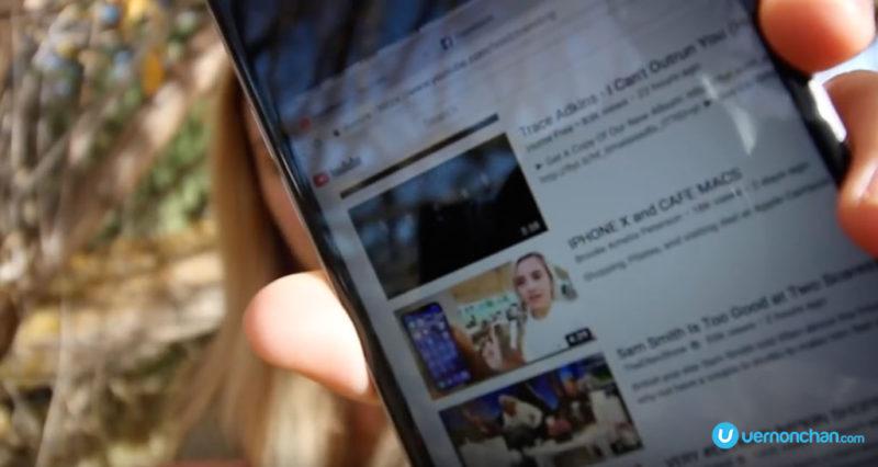 Apple iPhone X viral video